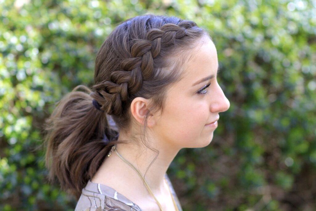 Dutch Accent Ponytail | Short Hairstyles