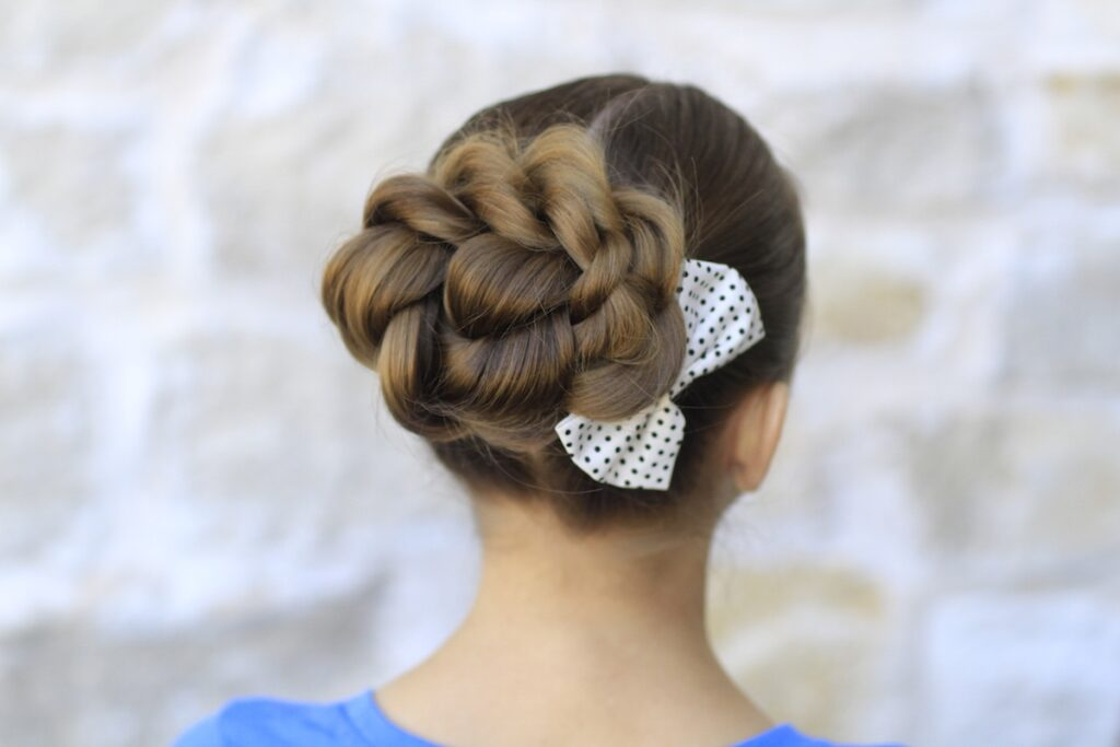 Rope Twisted Bun | Prom Hairstyles