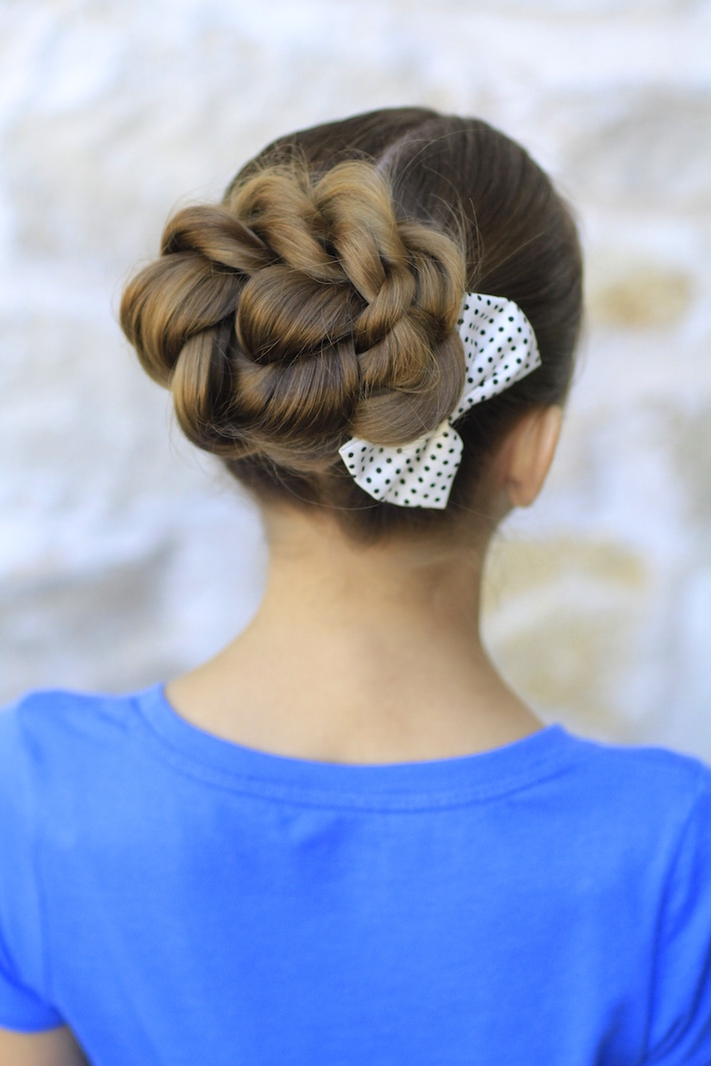 Rope Twisted Bun Hairstyles For Prom Cute Girls Hairstyles