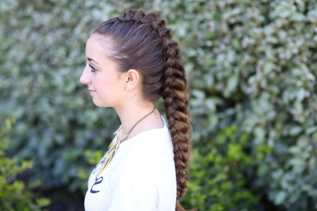 Dragon Braid | Hairstyles for Girls