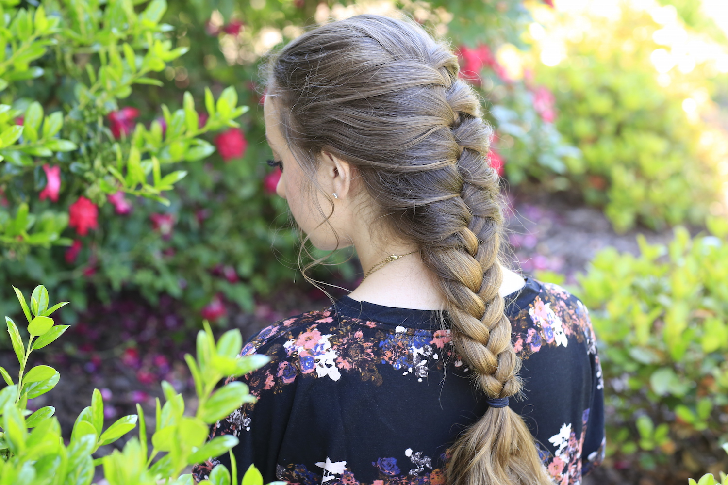 easy french braid instructions