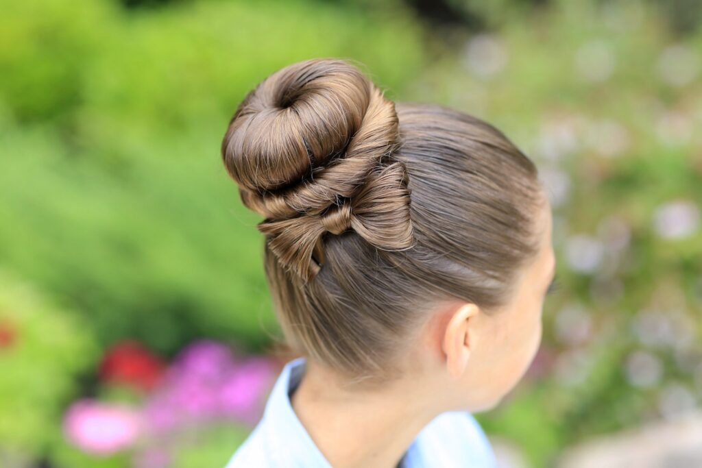 Причёски на голове для детей