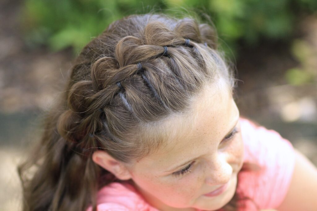 Split Braided Headband