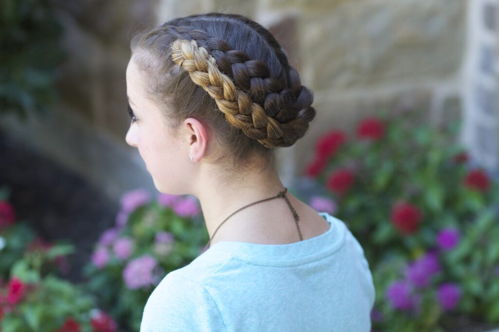 Fold Up Braids | Back-to-School Hairstyles