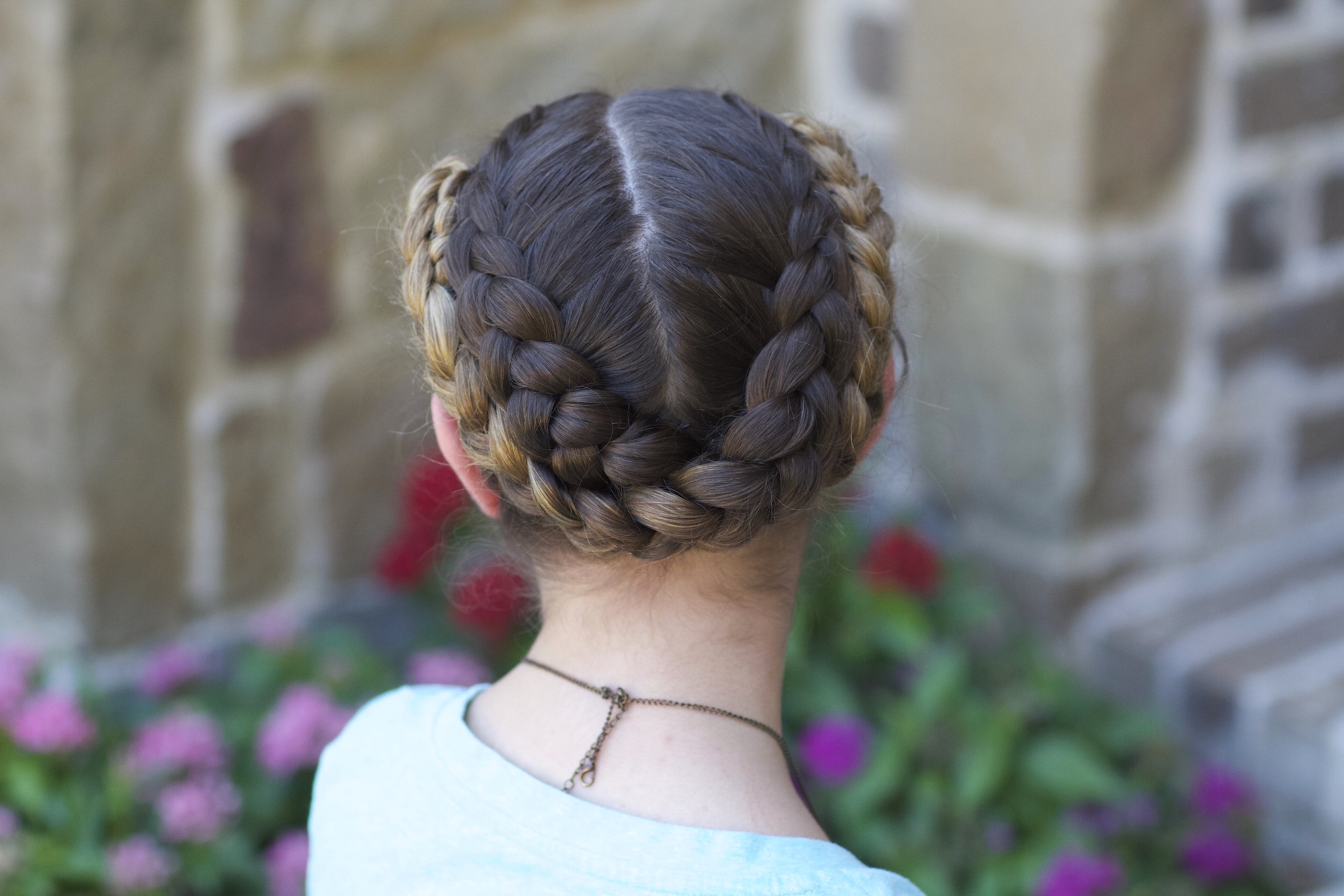 Fold Up Braids | Back To School Hairstyles