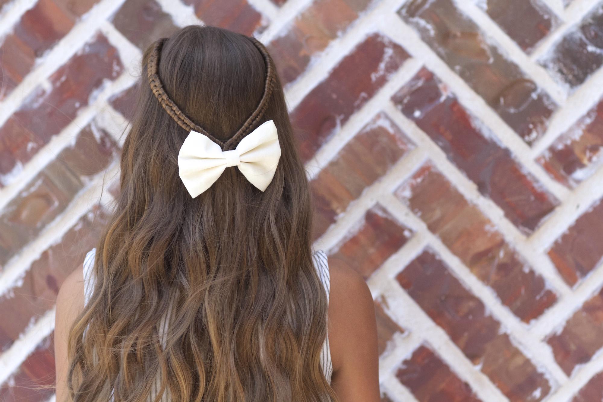Infinity braid tieback back to school hairstyles cute girls infinity braid tieback back to school hairstyles solutioingenieria Choice Image
