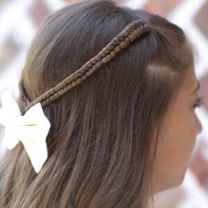 Infinity Braid Tieback | Back-to-School Hairstyles