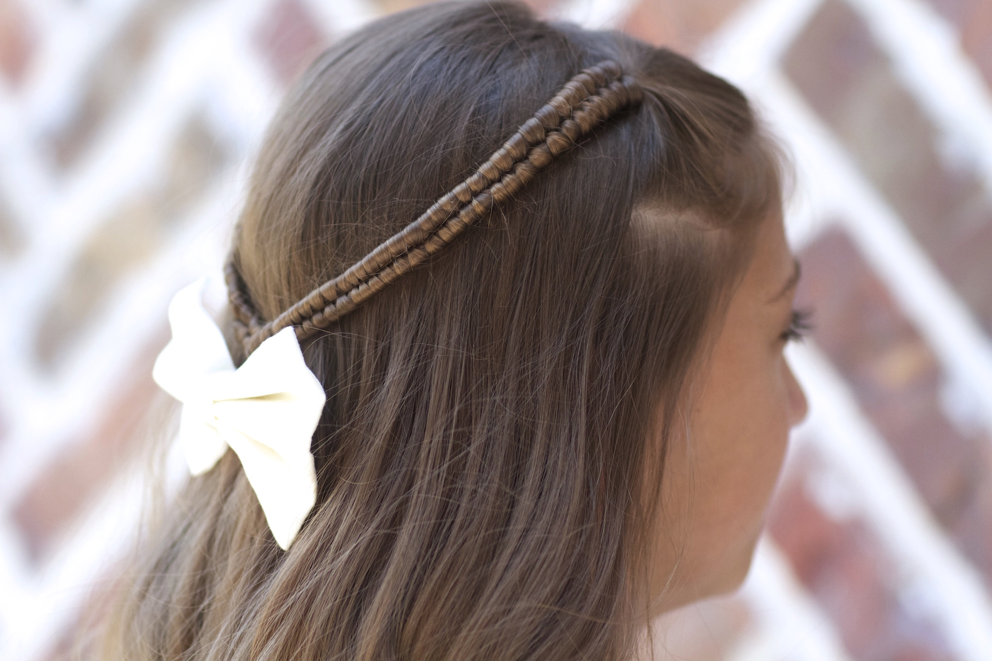 infinity hair style infinity braid tieback back to school hairstyles 5360 | MG 7774
