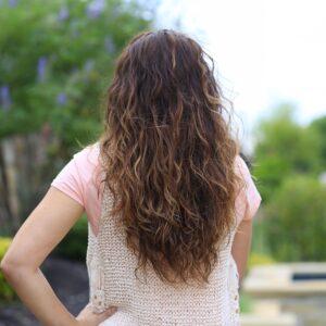 No-Heat Plopping Curls
