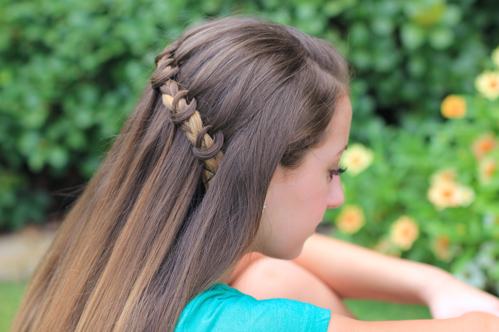 The Knotted Waterfall Braid