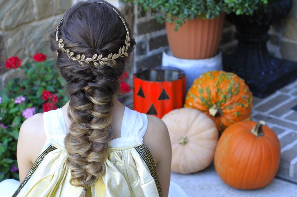 Twist Faux Braid | Greek Goddess Hair