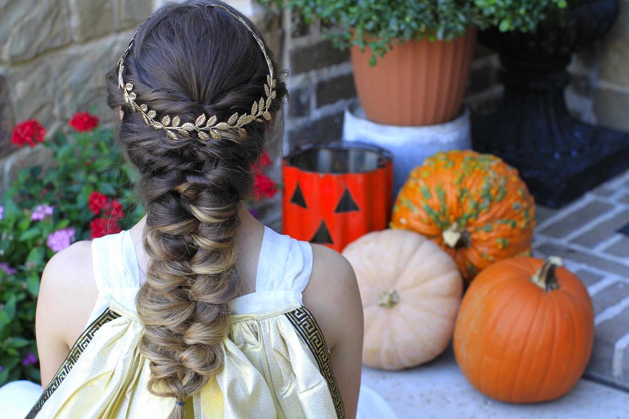 Twist Faux Braid | Halloween Hairstyles - Cute Girls Hairstyles