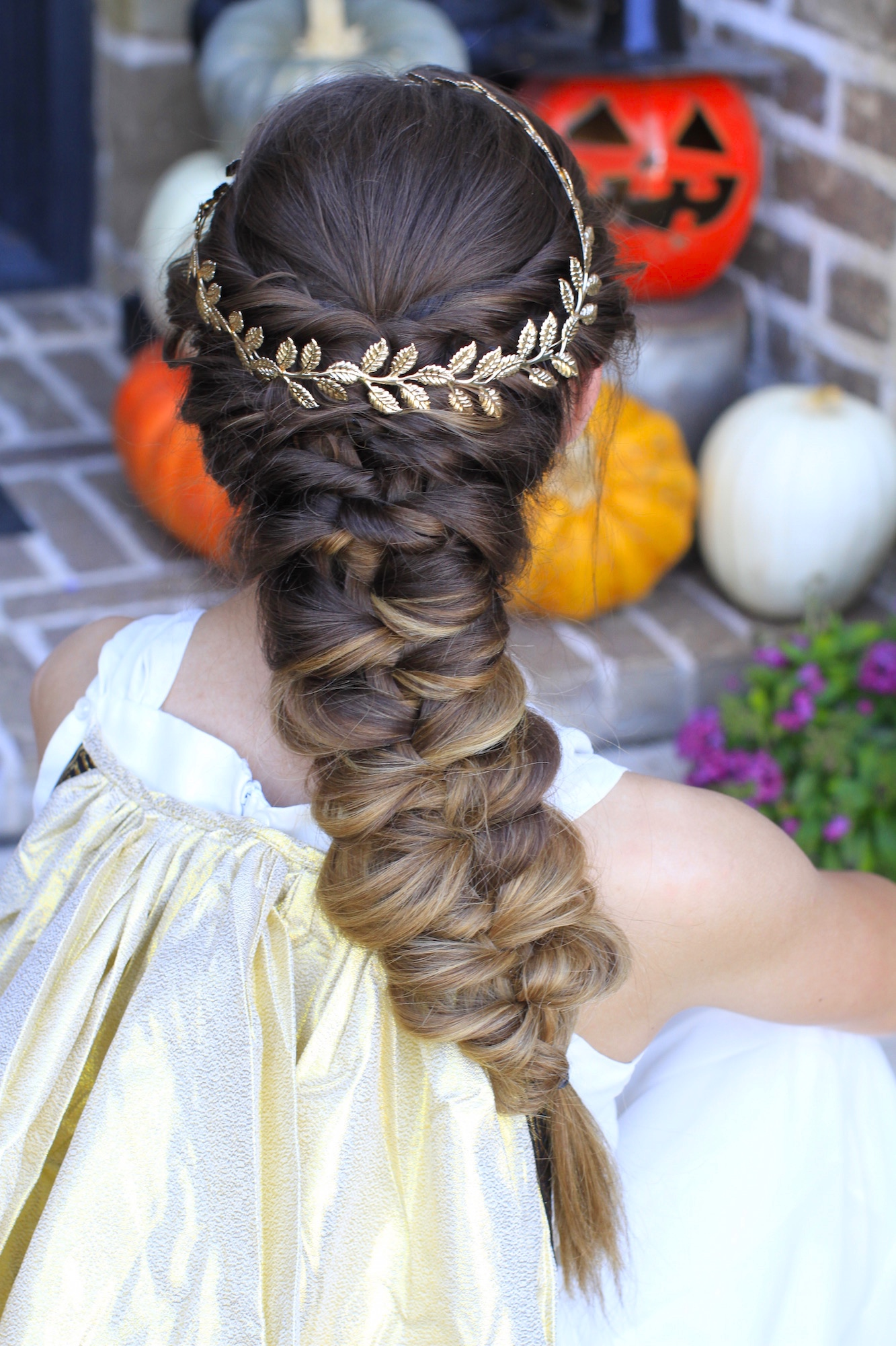 Twist Faux Braid | Halloween Hairstyles