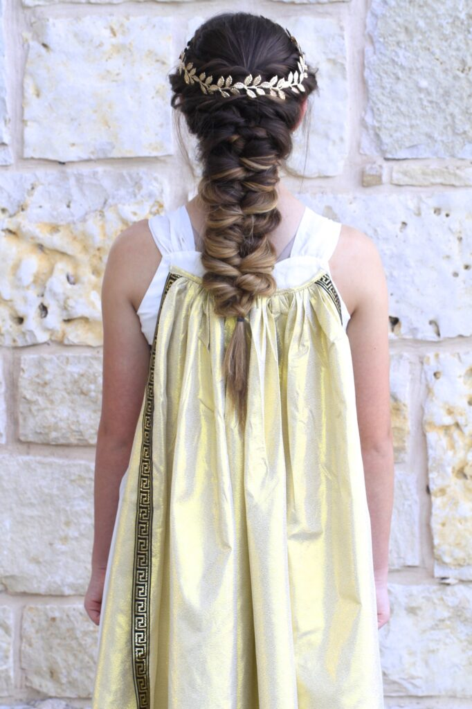 Greek Goddess Hair | Long Hairstyles |Halloween Hairstyles