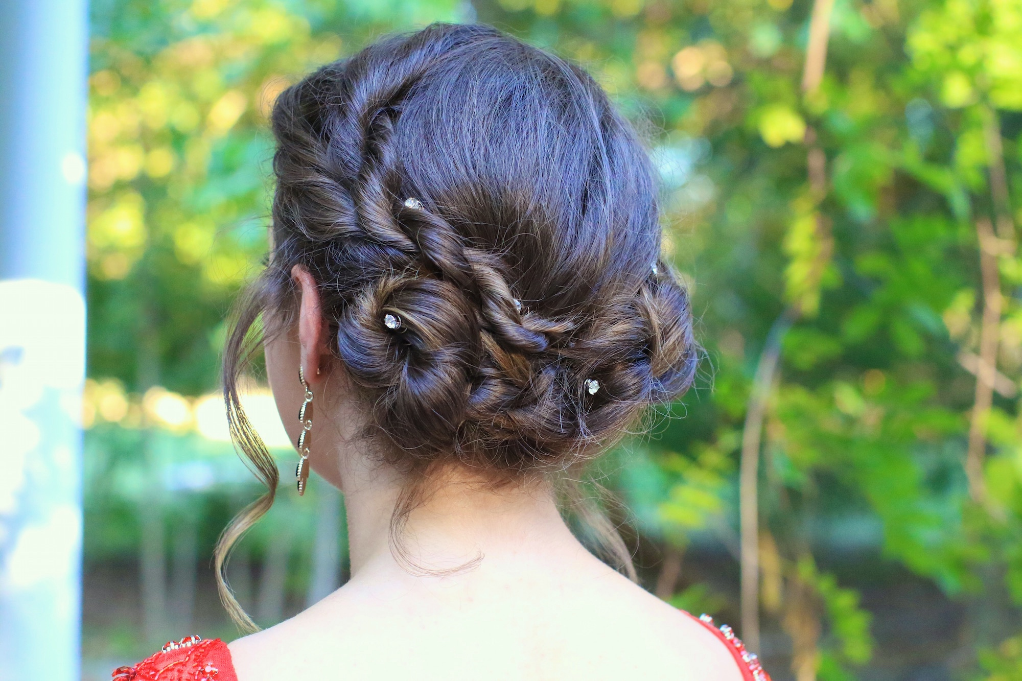 Rope Twist Updo | Homecoming Hairstyles