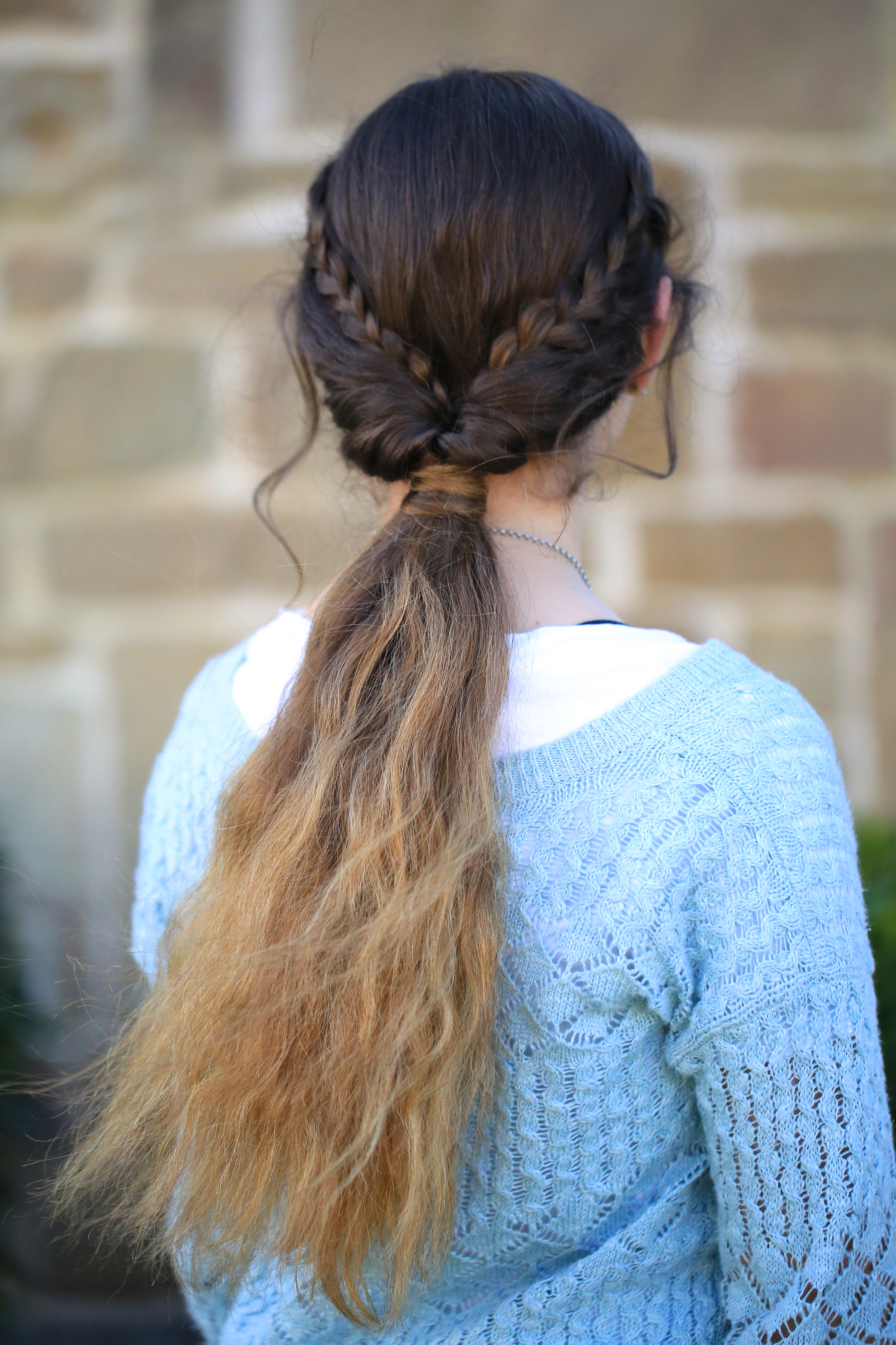 hair flip style braid flip combo hairstyle hairstyles 9021