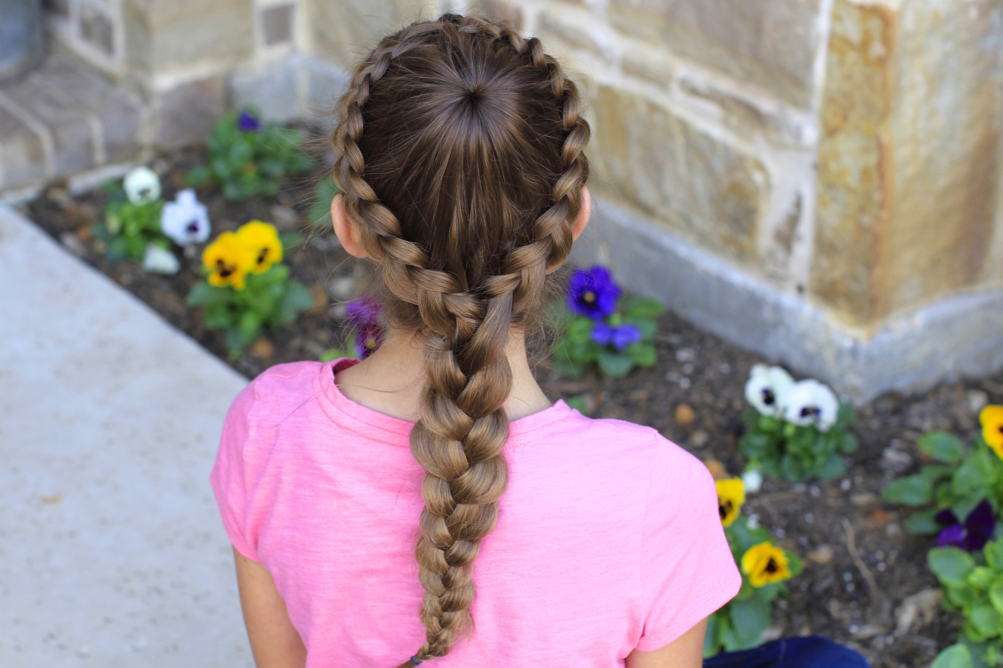 How To Create A Dutch Starburst Braid