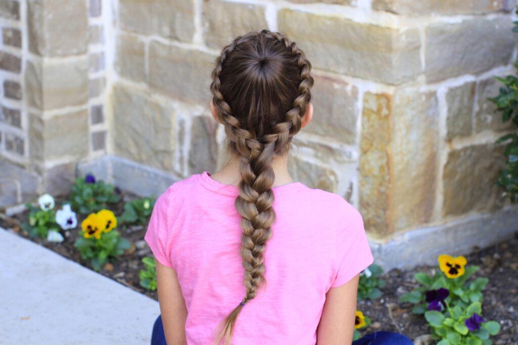 Dutch Starburst Braid | Hairstyles
