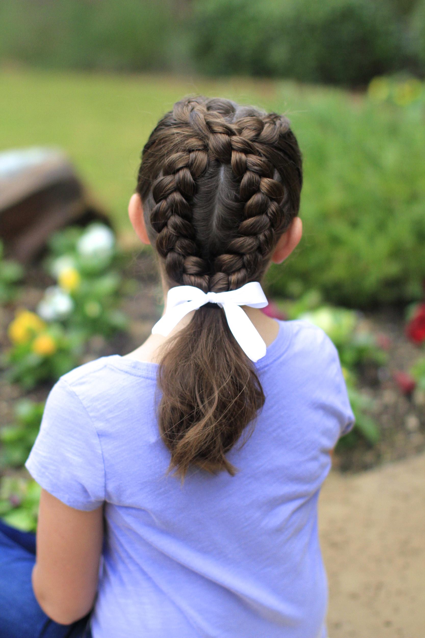 Mermaid Half Braid | Hairstyles for Long Hair | Cute Girls ... |Pretty Braids For Girls