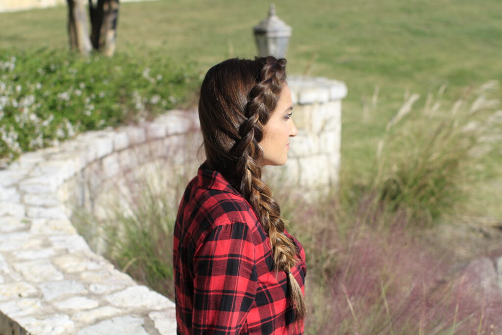 Dutch Side Braid | Easy Hairstyles