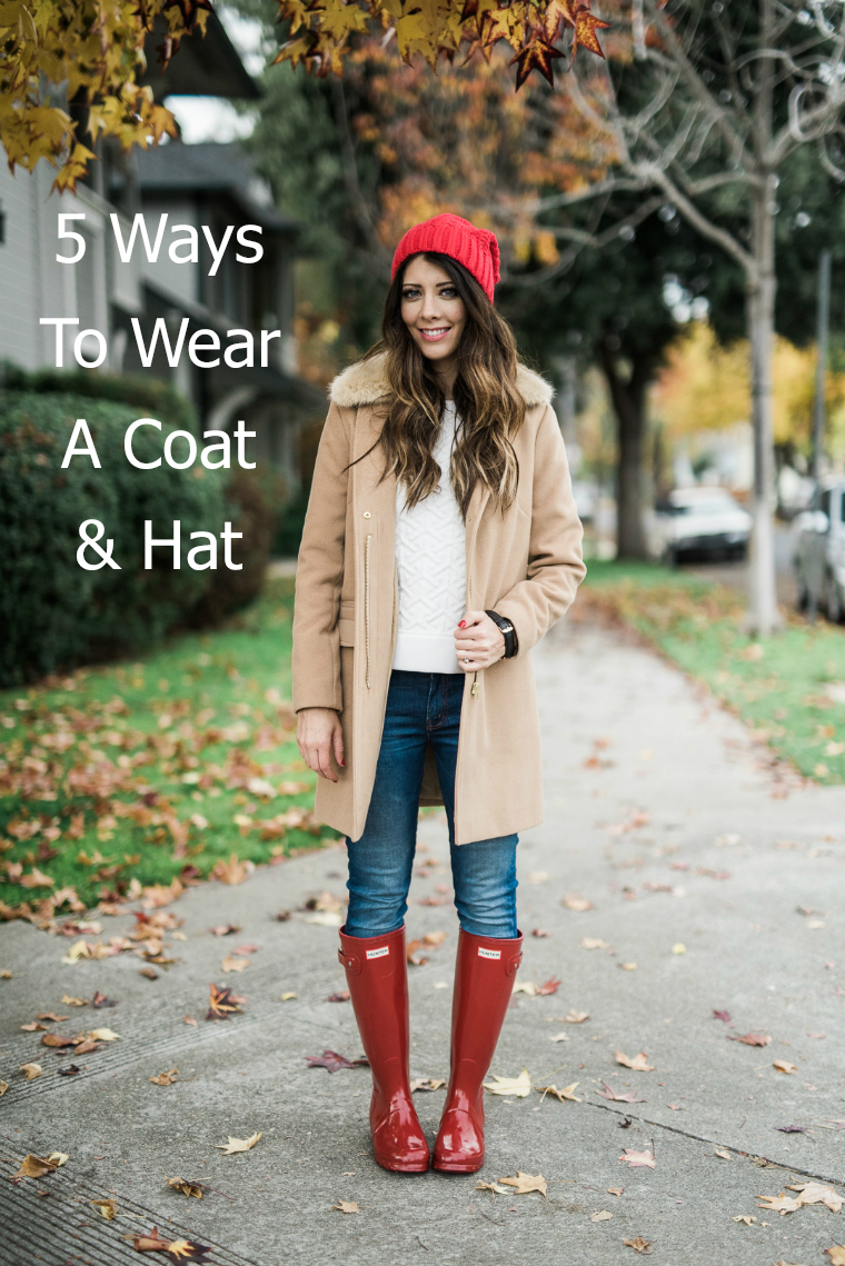 5 Ways To Wear A Coat Hat Cute Girls Hairstyles