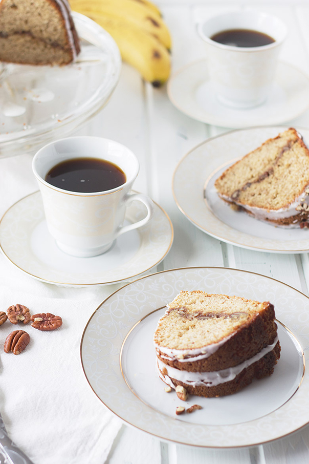 Banana Pecan Coffee Cake | Recipe