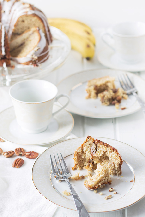 Banana Pecan Coffee Cake | Recipe | Slow Cooker