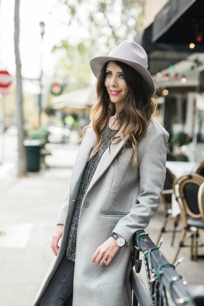 Everyday Winter Style | Hat & Coat