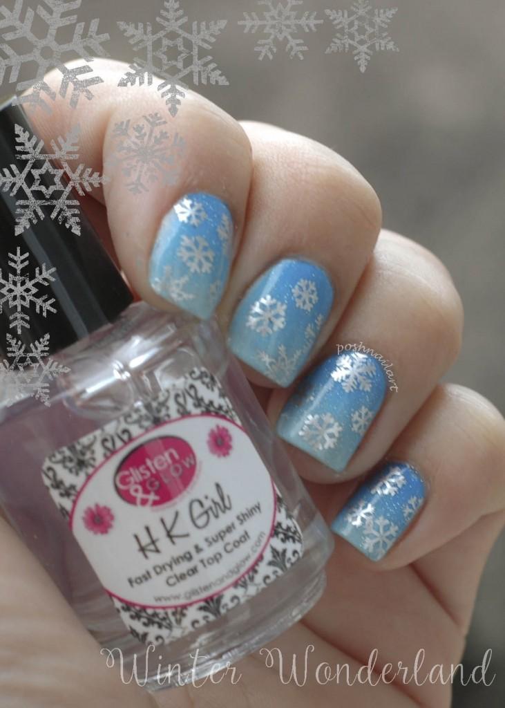 Winter Manicure | Nail Art | DIY