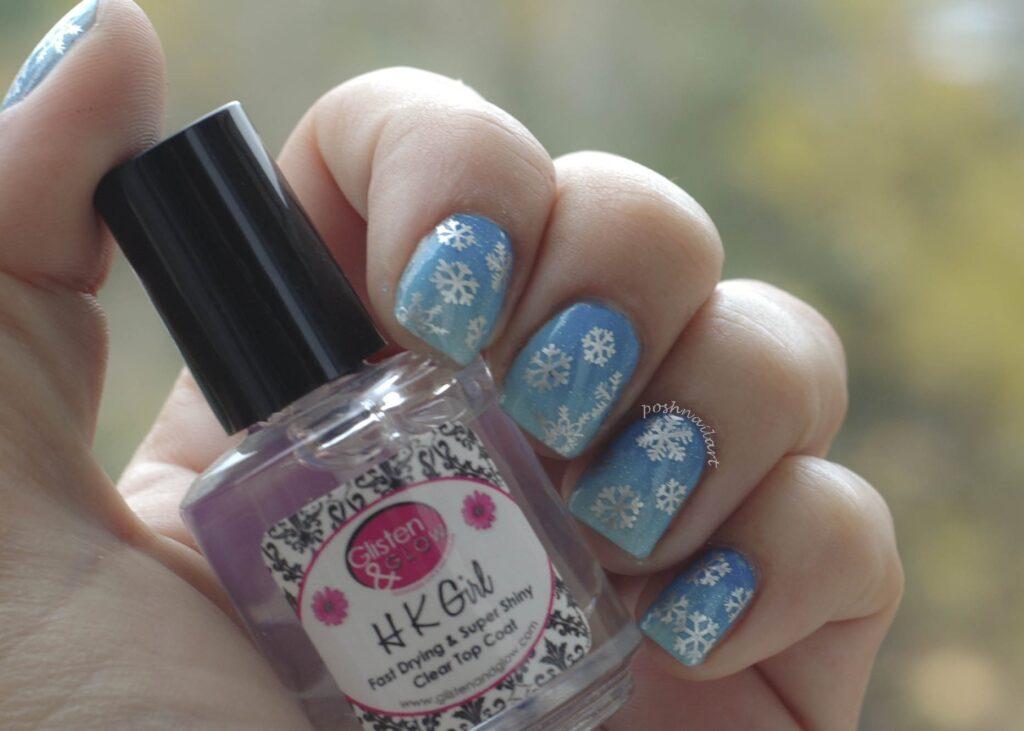 Snowflake Manicure | Winter