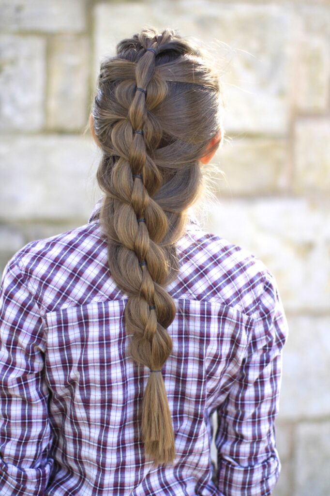 Pull Through Mermaid Braid