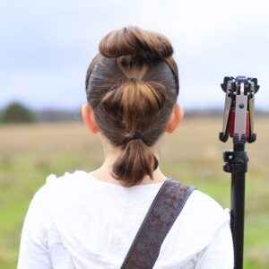 Rey's Triple Buns | The Force Awakens Hairstyles