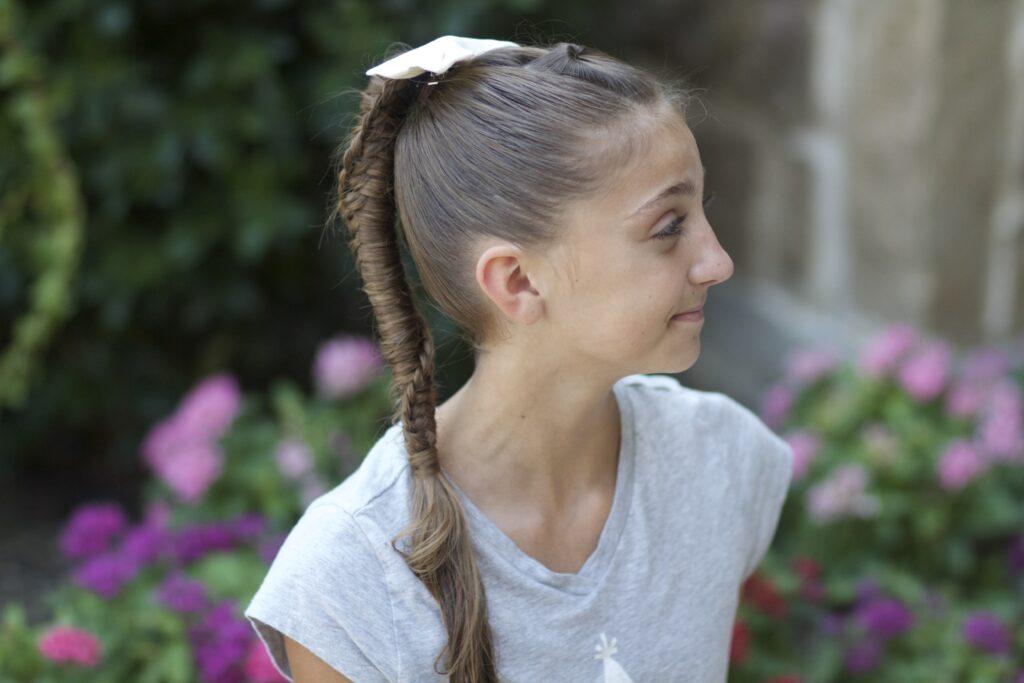 Chinese Staircase Braid | Cute Girls Hairstyles