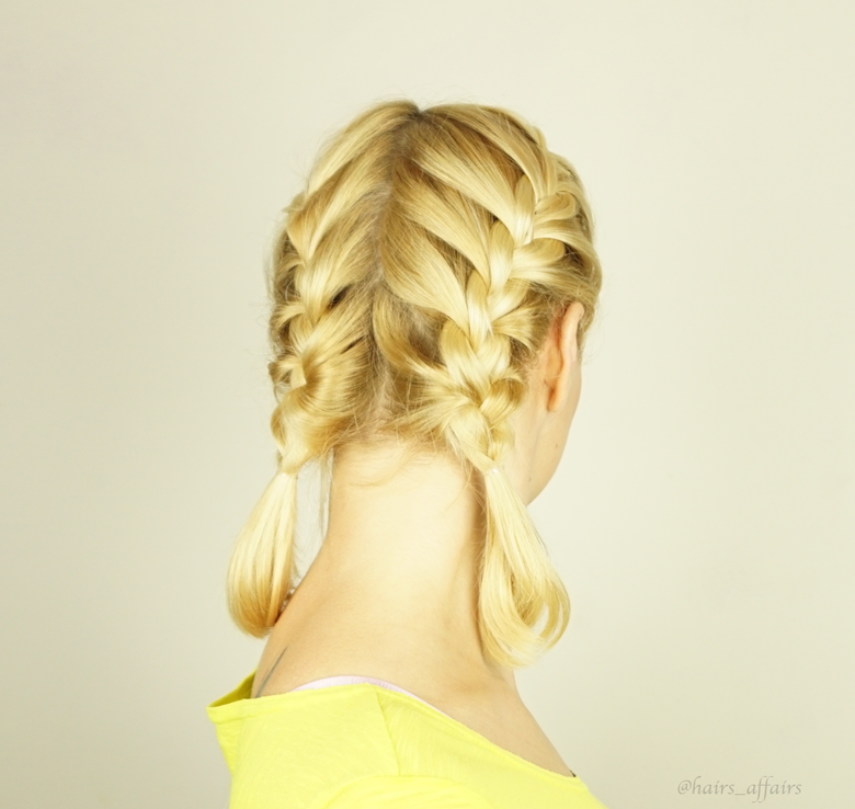 5-easy-and-cute-hairstyles-for-the-gym | Pigtails