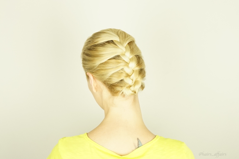 French Braid | Gym Hair