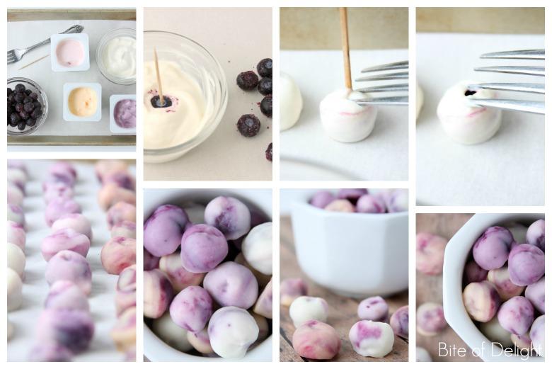 Healthy Fruit Yogurt Snacks