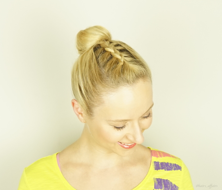 Dutch Braid | Bun
