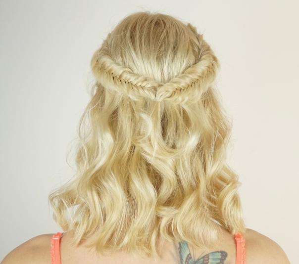 Valentine's day hairstyles   Fishtail