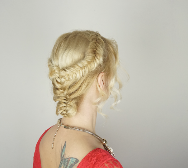 Valentine's day hairstyles | updo