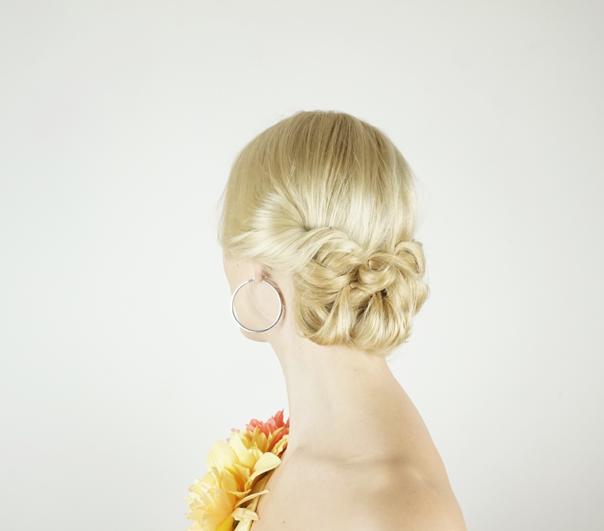 Valentine's day hairstyles   Twist up