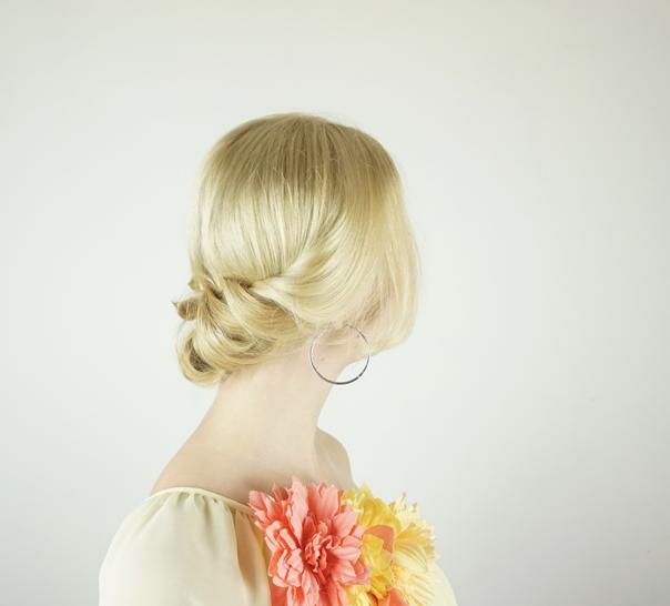 Valentine Hairstyle   Twist up