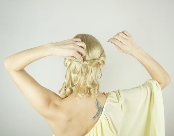 Updo Hairstyle | Valentine