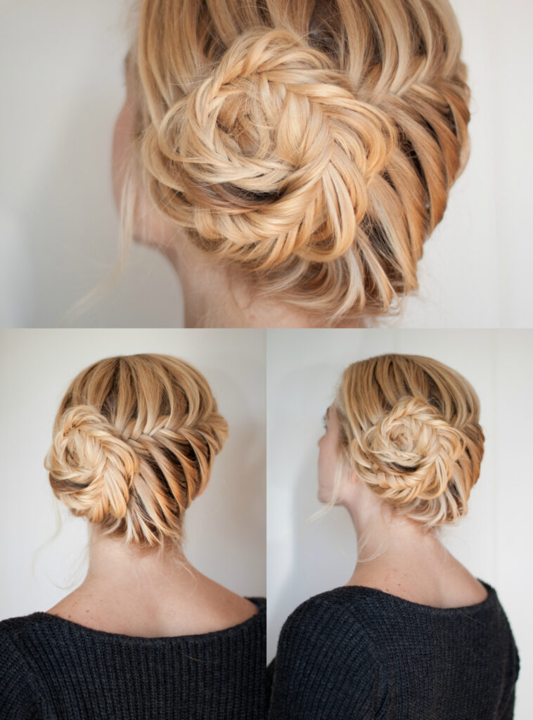 Fishtail Braid | Updo