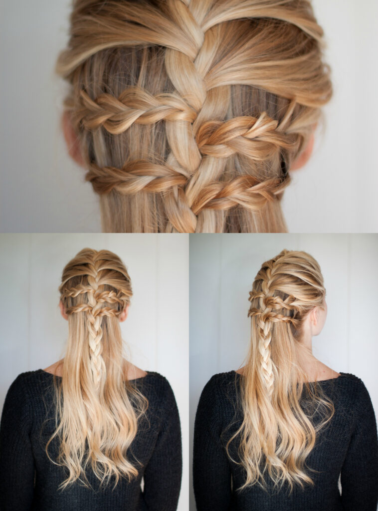 Half Up Braid | Hairstyle