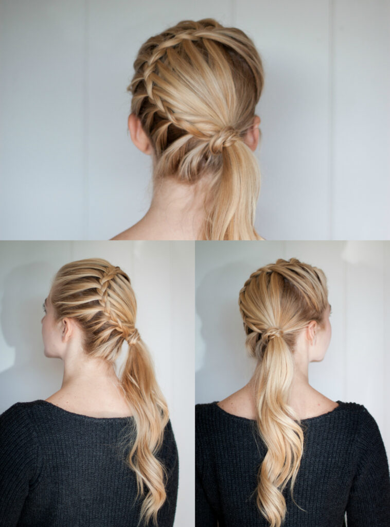 Lace Braid | Ponytail
