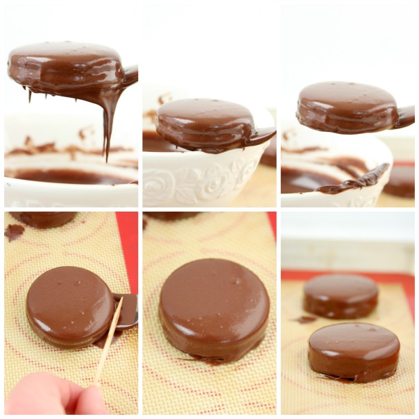 Chocolate Dipped Oreos