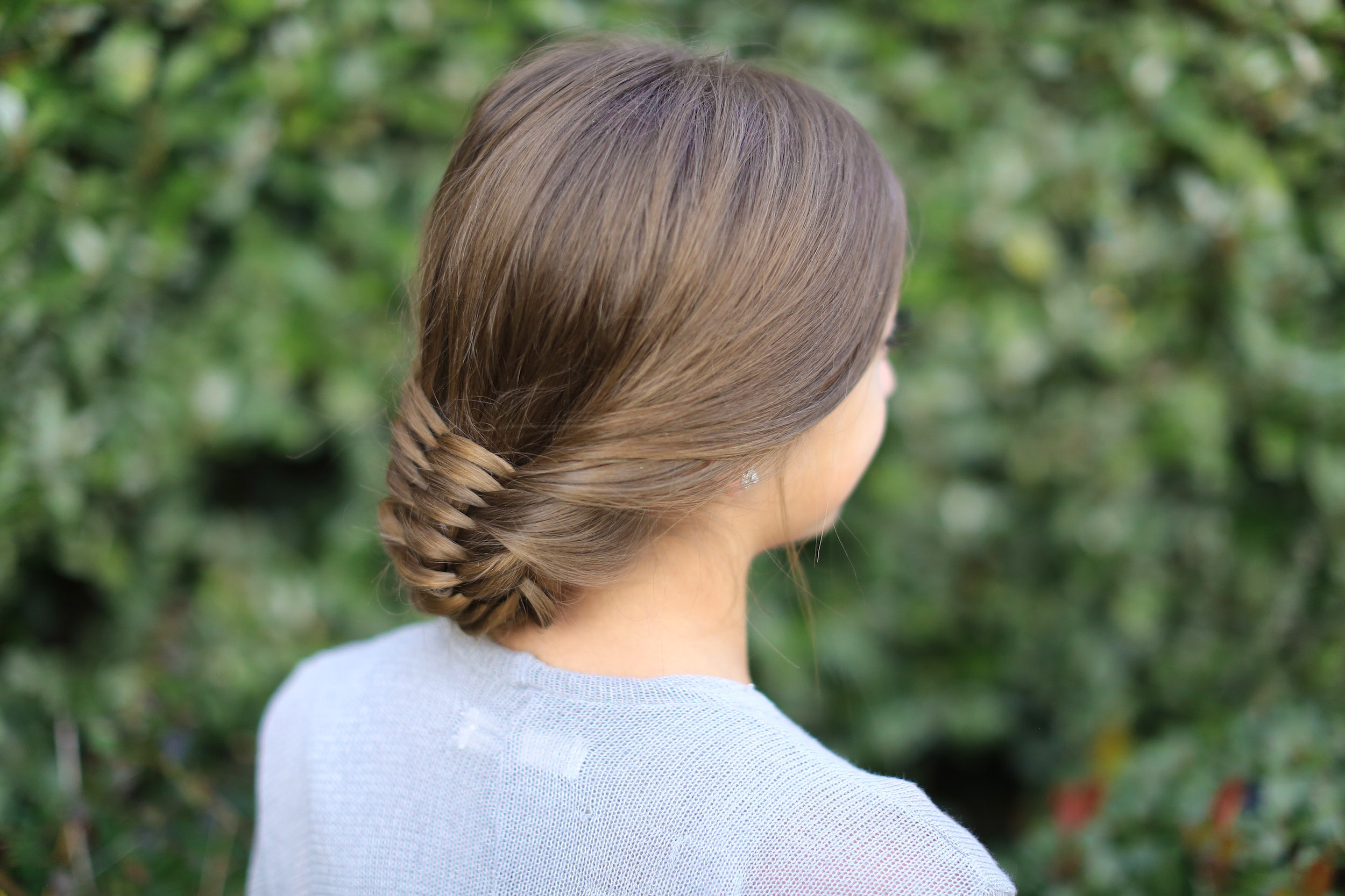 The Woven Updo Cute Girls Hairstyles