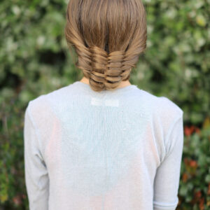 Basket Weave Updo | Hairstyles for Prom