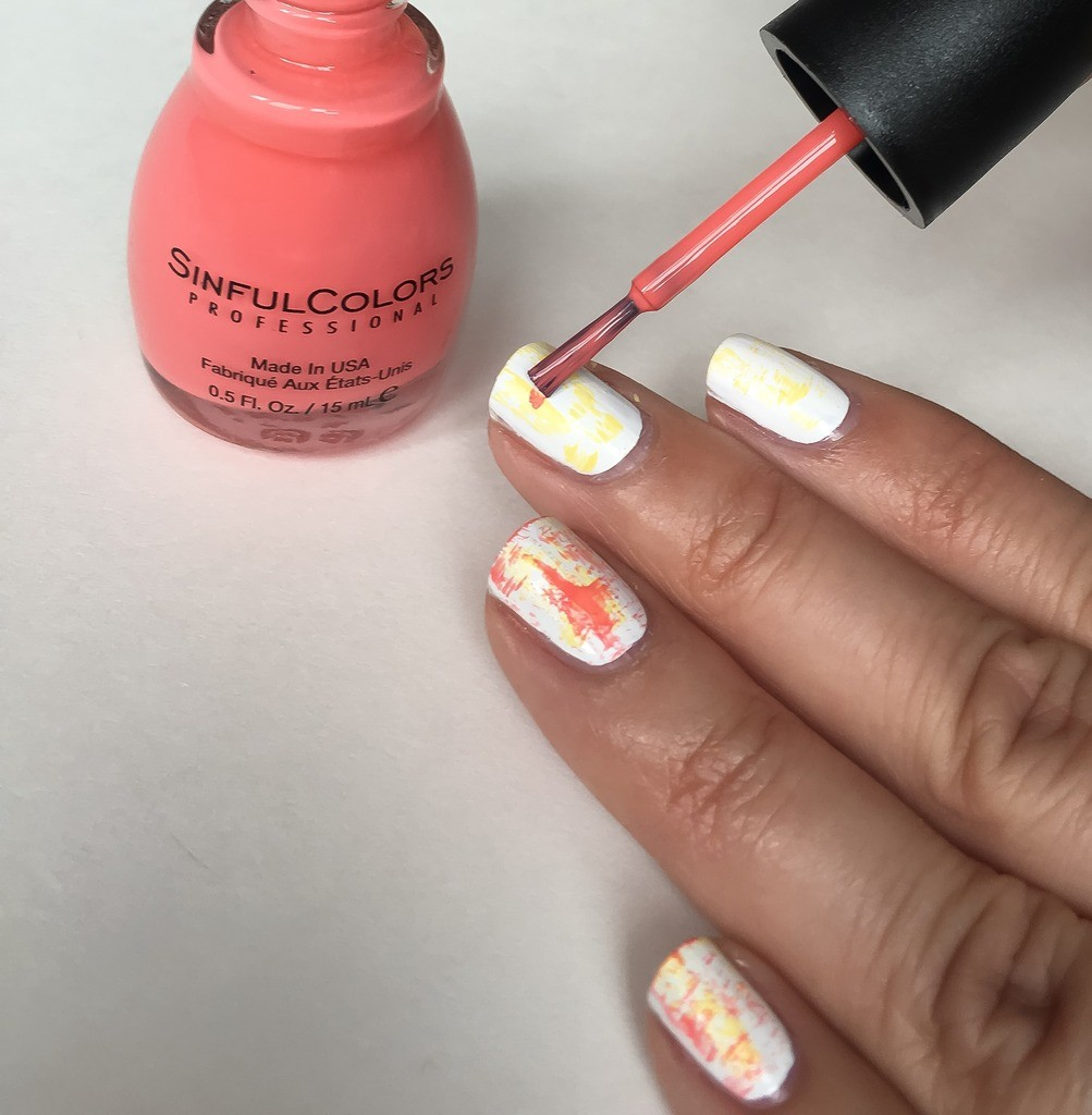 Dry-Brush Nail Art