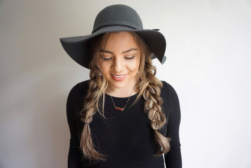 Hairstyles for Hats | Braids